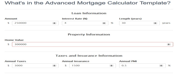 Mortgage Calculator 1