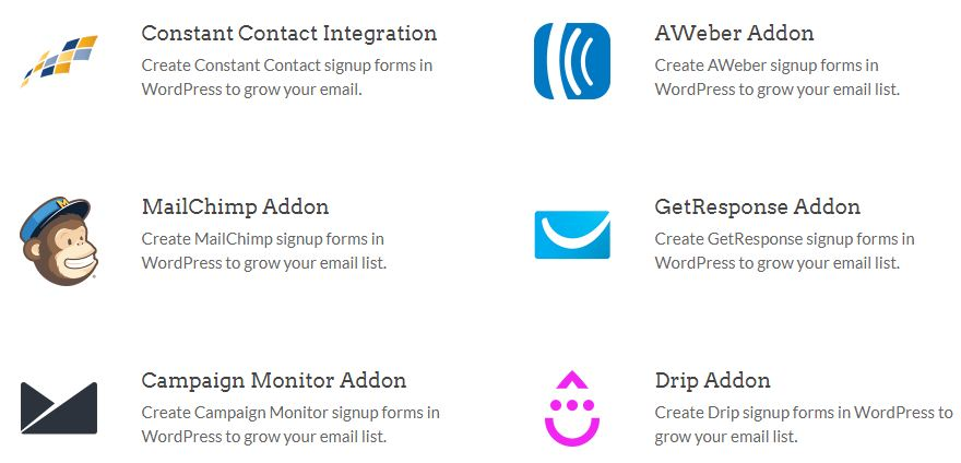 email marketing addons